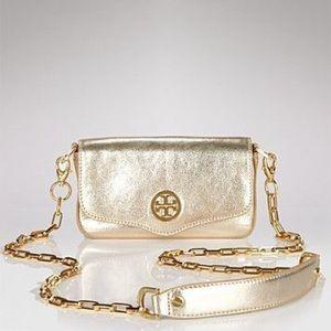 New Tory Burch Classic Mini Bag Gold